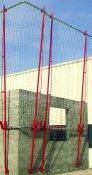 Protection plaquée-filet hauteur 4m10